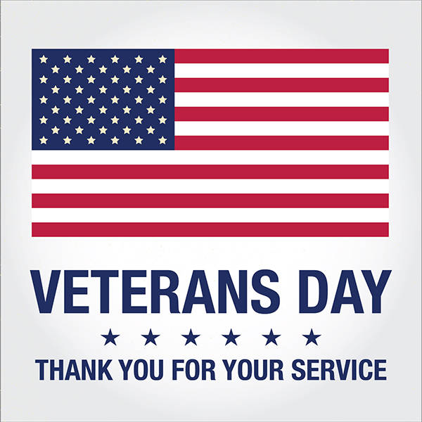 Closed - Veteran's Day